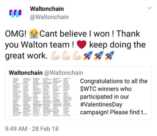 0302 waltonchain nyereményjáték 1