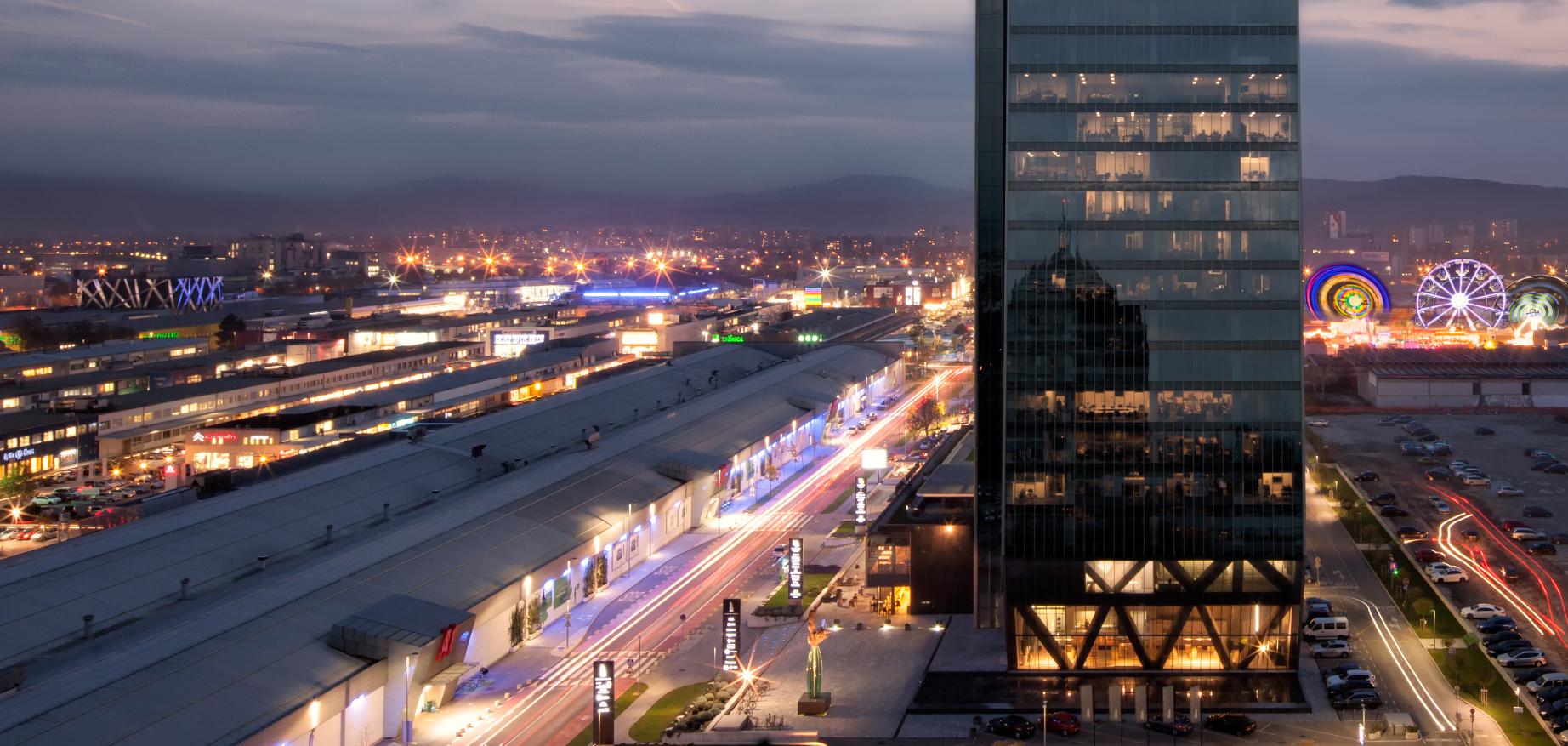 A legjobb 10 hotel a BTC City bevásárlóközpont közelében, Ljubljanában, Szlovéniában