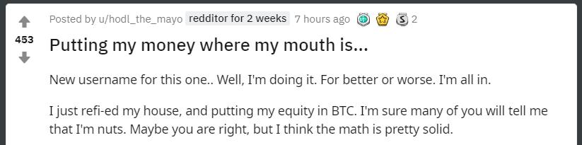 fél bitcoin bejegyzés