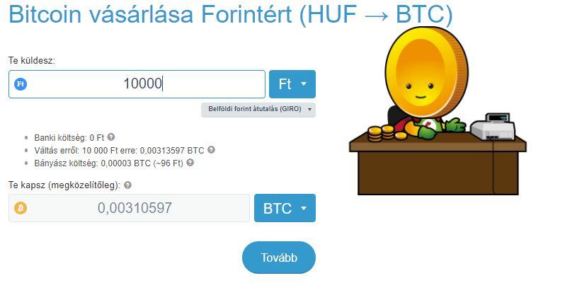 bitcoin vásárlása